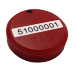Coin/Button Size Tag