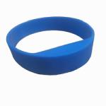 Silicone wristband tag